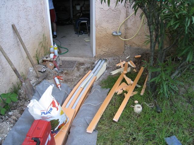 Réponses plomberie thermique Maison collage de tuyaux PVC fuite après collage